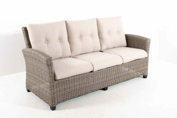 Oppdatert 3seter sofa | Oakland Møbler SJ-88