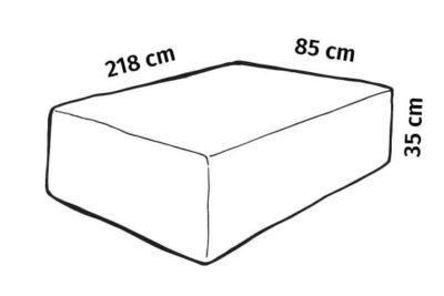 hagemøbeltrekk caneline 5602S