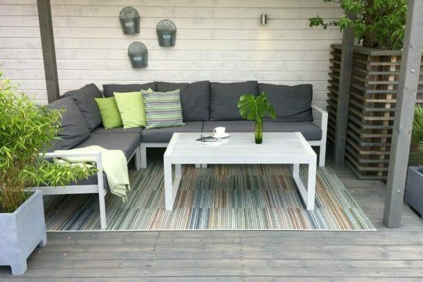 Ypperlig Slik innreder du en liten terrasse - eller balkong | Oakland Møbler TA-09