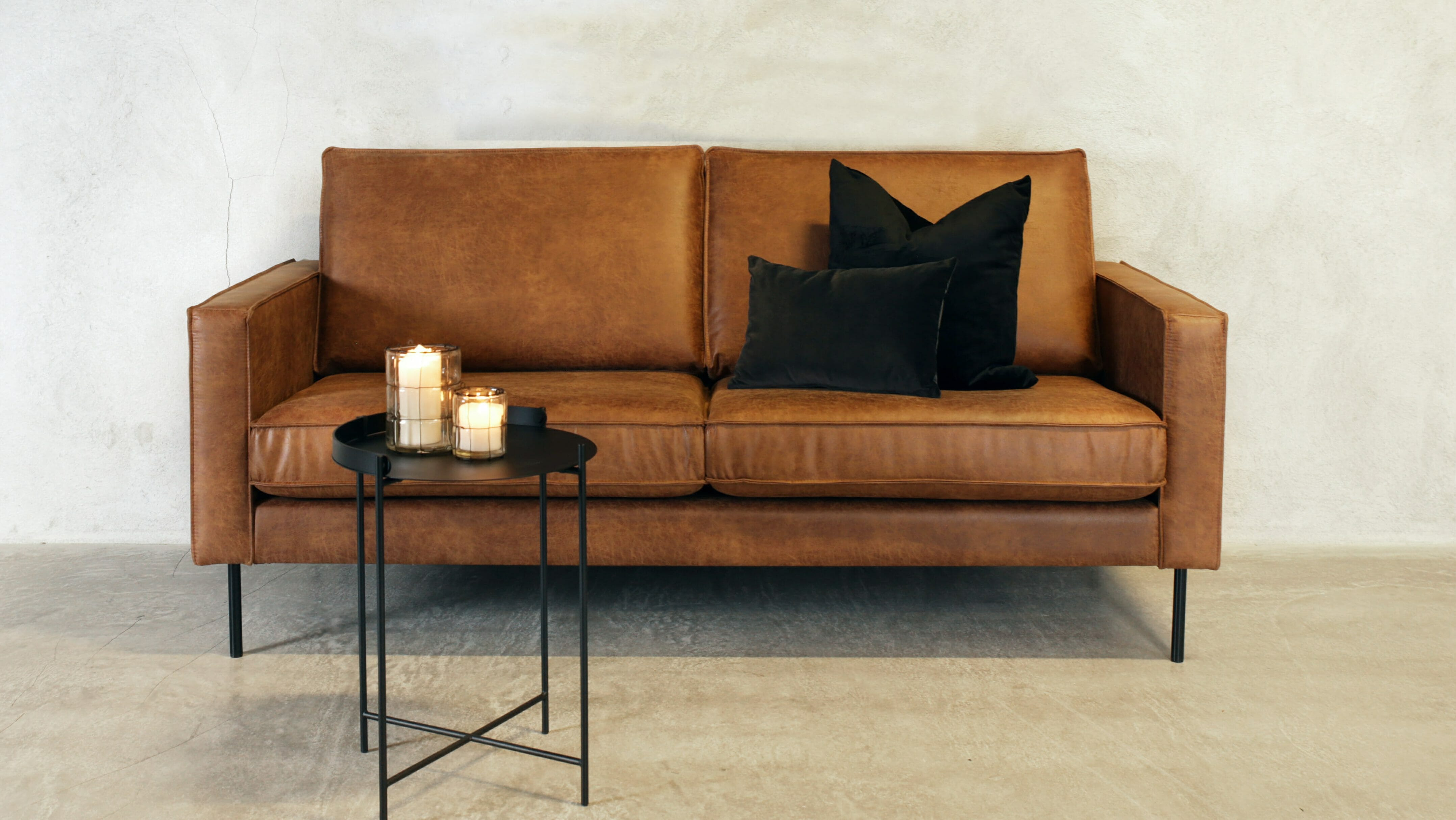 Royan 2 seter sofa Eco-hud HFbilde, On the move bord front