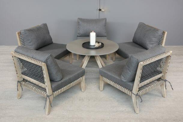 Lounge stol gruppe