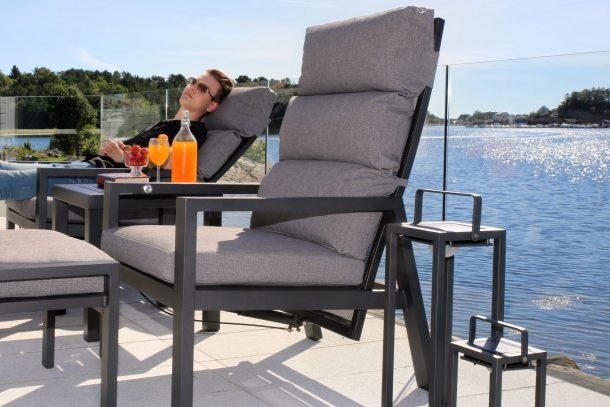 Hvile Dekk og Gynge-stol