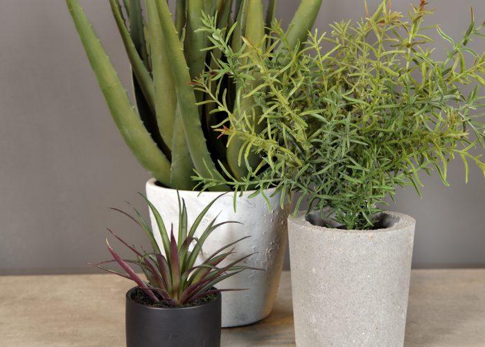 Kunstige blomster og planter