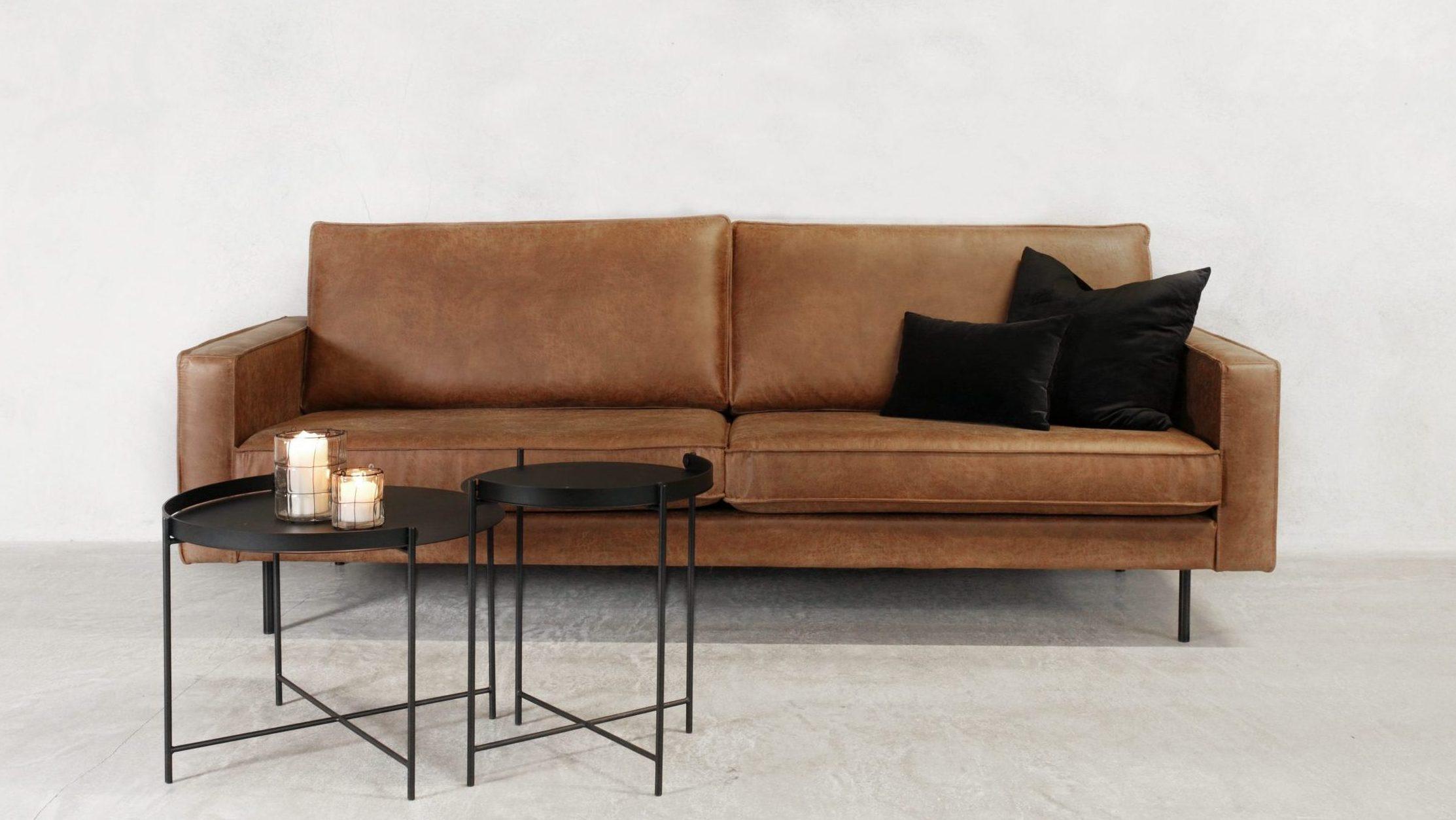 Amalie xl sofa konjakk-2